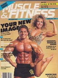 muscle and fitness vintage magazine cover